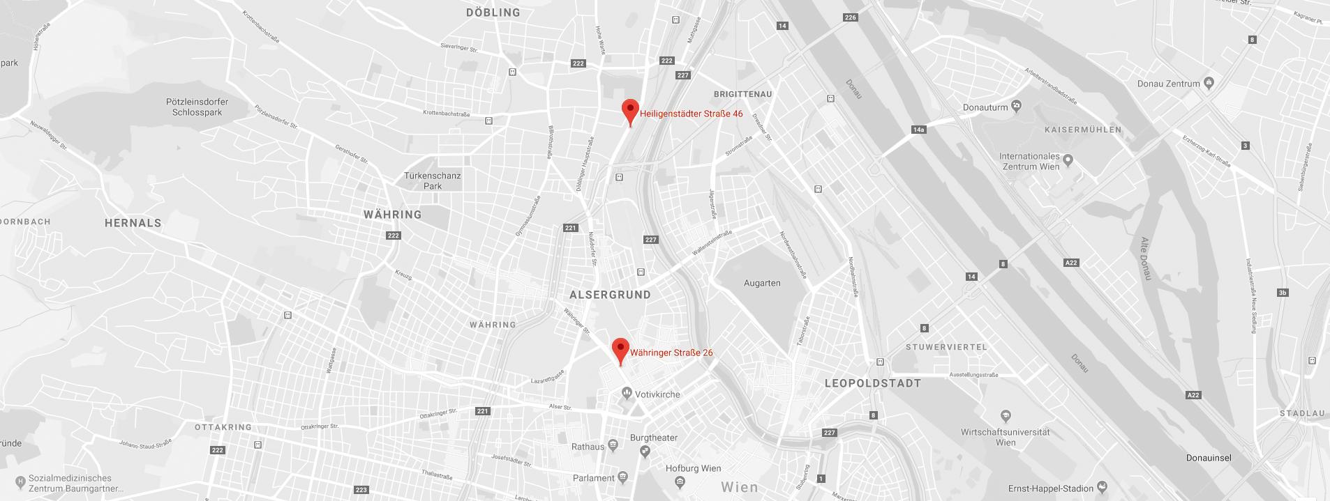 Vienna Female Medcare: Lageplan